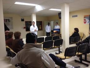 Recreos de Esperanza en las Salas de Espera de Diagnóstico por Imágenes y Unidad de Terapia Intensiva.