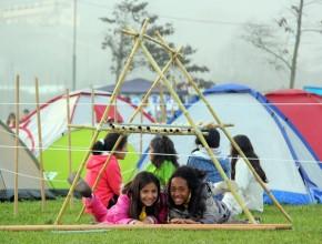 Adolescentes, niños y jóvenes del sur de Lima participan en Primer Hiper Campal.