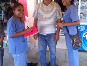 Estudiantes del ITSAE colaboraron con la campaña medica gratuita