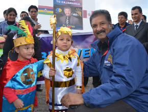 Líder mundial de jóvenes participa de Misión Caleb 6.0 en Cajamarca