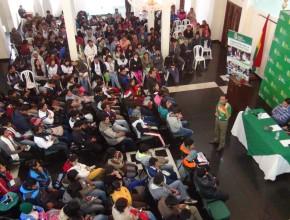 """""""Cualquier joven que práctique el voluntariado tienen un nivel de ciudadanía mayor que el resto de los ciudadanos, expresó el Ing. Suarez."""