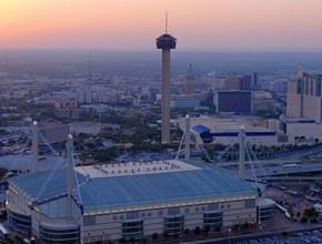En Alamodome  San Antonio en los Estados Unidos. El estado de Texas será el lugar de la Sesión de la Conferencia General el año próximo.
