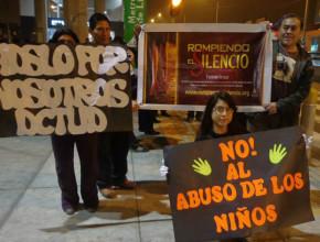 Marcha nocturna contra el turismo sexual en las principales avenidas de Lima2