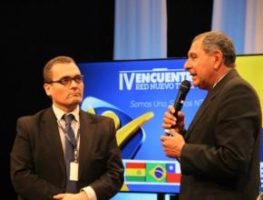Victor Casmuz, habla sobre la importancia del trabajo laico dentro de las comunicaciones (Imagen: Red Nuevo Tiempo)