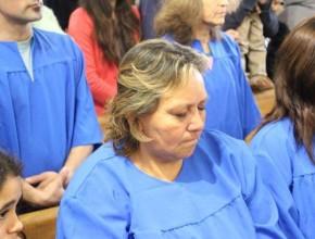 Como resultados de las noches evangelísticas, más de 50 personas tomaron la decisión de ser bautizadas en Uruguay.