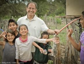 Pobladores no contaban con agua potable, ahora gracias al trabajo de ADRA Argentina, Legacy of Healing y pobladores de las comunidades, ya se cuenta con agua potable.