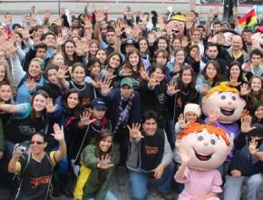 Proyecto contó con jóvenes de ocho países de Sudamérica.