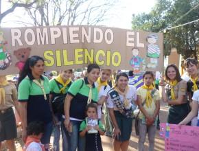Medios de Comunicación siguieron de cerca acciones del proyecto Rompiendo el Silencio en Argentina.