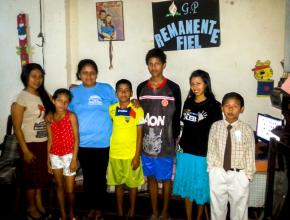 Enla presente semana en los Grupos Pequeños que desarrollan la Semana de Evangelismo Joven,