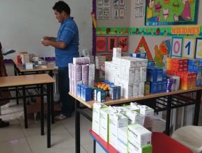 """Campaña evangelista """"Un Canto por la Paz"""" lleva atención médica a la ciudad de Huacho en el Norte Peruano (2)"""