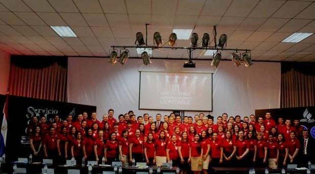 Participantes del III Encuentro Administrativo Contable de la UP