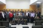 Evangelistas voluntarios con el Pr. Adonirám Alomía