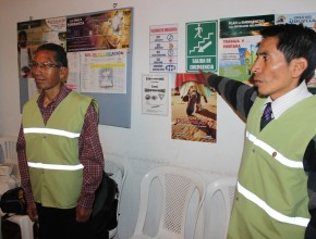 Lideres de Iglesia son parte activa del comité de prevención de emergencias