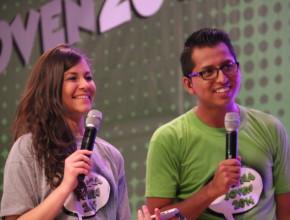 Presentadores del programa Web