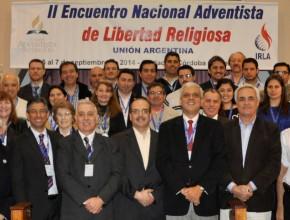 Culmina el evento y este grupo se compromete a abogar por el derecho de Libertad Religiosa.