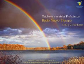 Octubre será el mes de las Profecías por Radio Nuevo Tiempo