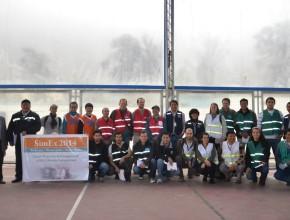 Equipo sudamericano que participó del SimEx2014, en Perú.
