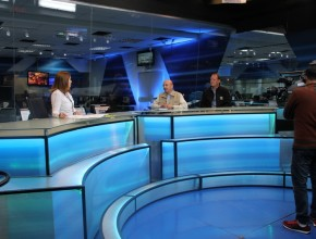 Entrevista fue hecha en vivo con representantes de ADRA Perú y ADRA internacional, en los estudios de TV Perú.