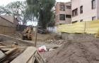 Suelo de la construcción al lado de la Radio Nuevo Tiempo Bolivia.