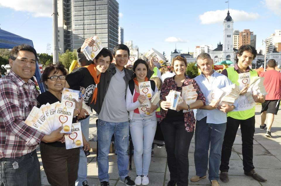 Distribuyeron unos 25.000 libros