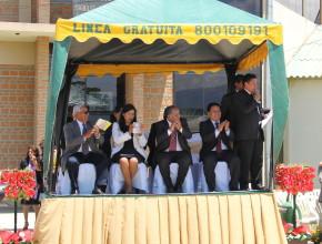 Líderes de la Universidad Adventista de Bolivia