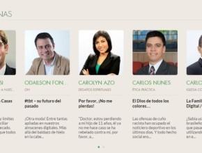 Artículos también pueden ser encontrados en las redes sociales de la Iglesia en Sudamérica.