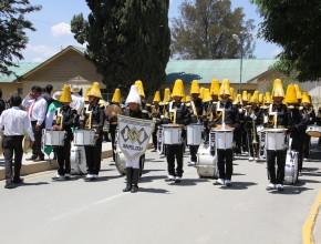 Desfile de la banda estudiantil