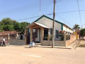 Iglesia de Santana con su nueva antena instalada