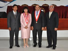 Nueva y renovadas autoridades en la Universidad Peruana Unión1