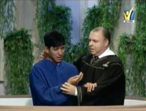 Daniel el joven que volvió a Cristo luego de hacer un pacto con Él. Bautismo se realizó en vivo, dentro del programa Viva con Esperanza.