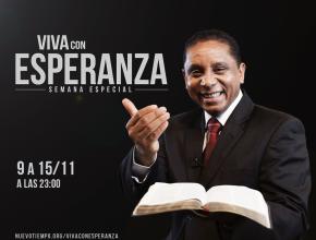 Hoy será el último programa de Viva con Esperanza a través de la Red Nuevo Tiempo.