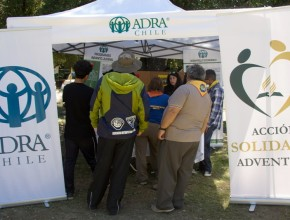 Conquistadores salieron motivados a participar junto a ADRA en caso de emergencias.