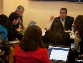 Capacitación a secretarias de las Asociaciones y Misiones de la Unión Chilena en CMS. © Alfredo Müller