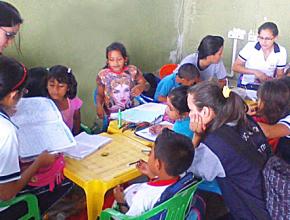 ADRA Ecuador  que dirige por tercer año el proyecto del Centro Escolar Refuerzo (CRE)