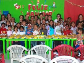 La Agencia Adventista de Desarrollo y Recursos Asistenciales (ADRA) de Ecuador, realizó un programa  especial por navidad