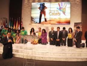 Consagración de los jóvenes y de la aplicación, se produjo en un servicio celebrado este viernes en Brasilia, Brasil.
