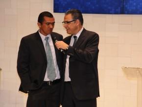 La historia de Raimundo fue presentada por el pastor Marlon Lopes.