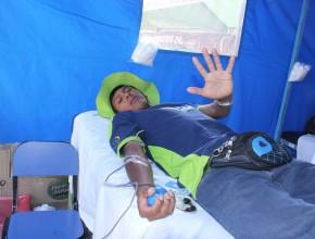 """Campaña de donación de sangre """"Vida por vidas"""" se realizó en el marco del proyecto Misión Caleb."""