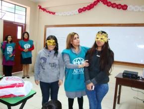Voluntarias de ADRA  se comprometieron con proyecto que busca la paz social en el Perú.