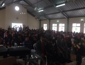 """El encuentro se realizó en la Iglesia Adventista """"Mitad del Mundo""""."""