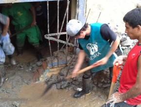 Voluntarios de ADRA Perú ya están en acción en zonas vulnerables de Chosica.