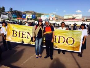 Alexandre Macedo y Patricia Macedo son los voluntarios que llegaron del Brasil para ayudar a los clubes de Conquistadores en Cusco.