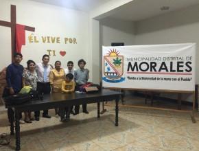 Niños desarrollan Semana Santa en auditorio municipal de Morales