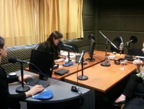Entrevista en Radio Andina