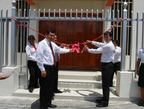 Templos adventistas lucen fachadas nuevas en el norte del Peru2