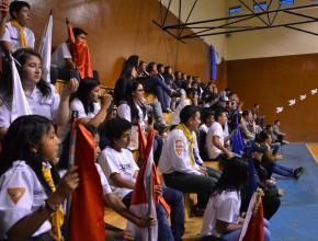 Más de 700 jovenes se dieron cita en el Coliseo