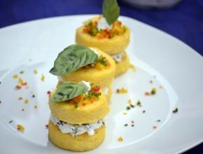 """""""Las recetas son ricas, divertidas y saludables"""", expresó congresista Jaime Delgado. [Foto: Jaziel Esqueche]"""