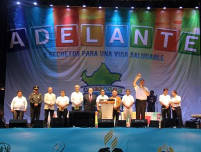 Autoridades de la Iglesia adventista y del Perú se unieron para promover la temperancia.