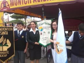 Colegio Adventista de la ciudad de Chimbote fue condecorado.