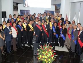 Líderes de diferentes lugares del Perú se comprometen a cooperar con el avance de la obra adventista.